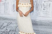 Ella Purnell Beaded Dress