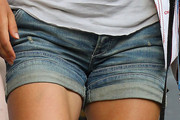 Victoria Azarenka Denim Shorts