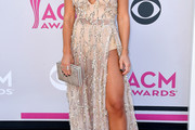 Jessie James Decker Sheer Dress
