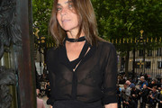 Carine Roitfeld Button Down Shirt