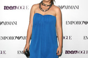 Sophie Simmons Strapless Dress