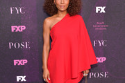Janet Mock One Shoulder Dress