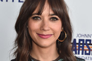 Rashida Jones Medium Wavy Cut with Bangs