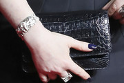 Natasha Lyonne Leather Clutch