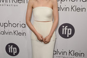 Rooney Mara Strapless Dress