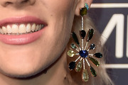 Busy Philipps Gemstone Chandelier Earrings