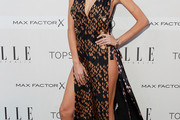 Nicole Trunfio Print Dress