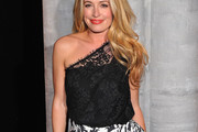 Cat Deeley One-Shoulder Top