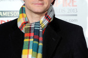 Martin Freeman Patterned Scarf