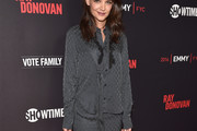 Katie Holmes Pussybow Blouse