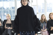 Leandra Medine Turtleneck