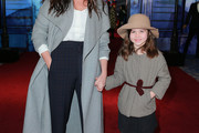 Tiffani Thiessen Wool Coat