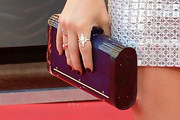 Lucy Hale Hard Case Clutch