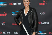 Tamera Mowry-Housley Leather Jacket