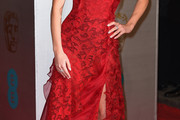 Annabelle Wallis Halter Dress