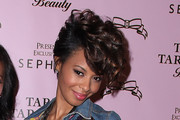 Vanessa Simmons Pinned Up Ringlets