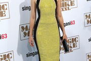 Elizabeth Banks Halter Dress