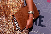 Kimberly Chandler Leather Clutch