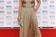 Shona McGarty Strapless Dress