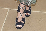 Sami Gayle Lace-Up Heels