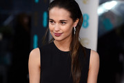 Alicia Vikander Long Straight Cut