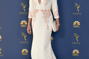 Laurie Metcalf Embroidered Dress