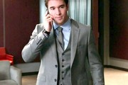 Josh Bowman Men's Suit
