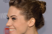 Lyndsy Fonseca Twisted Bun