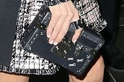 Jennifer Connelly Studded Clutch