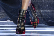 Candice Swanepoel Cutout Boots