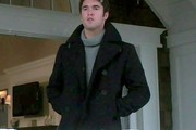 Josh Bowman Wool Coat