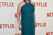 Kate Mulgrew Halter Dress