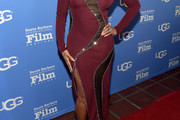 Mary J. Blige Form-Fitting Dress