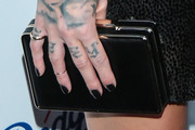 Skylar Grey Box Clutch