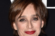 Kristin Scott Thomas Short Cut With Bangs