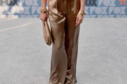 Cat Deeley Satin Pants