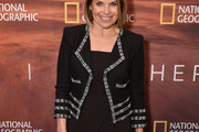 Katie Couric Cropped Jacket