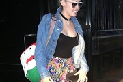 Miley Cyrus Denim Jacket