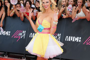 Nicole Arbour Strapless Dress