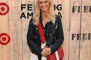 Zanna Roberts-Rassi Leather Jacket
