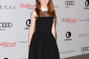 Alyson Hannigan Little Black Dress