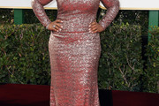 Yvette Nicole Brown Sequin Dress
