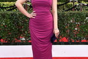 Anna Chlumsky Strapless Dress