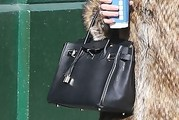 Nicky Hilton Leather Tote