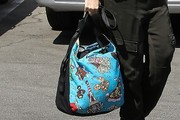 Gwen Stefani Printed Shoulder Bag