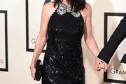 Courteney Cox Beaded Dress