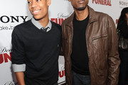 Tyler James Williams V-neck Sweater