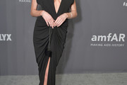 Charlotte McKinney Form-Fitting Dress