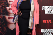 Danielle Brooks Wool Coat