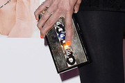 Claudia Schiffer Gemstone Inlaid Clutch